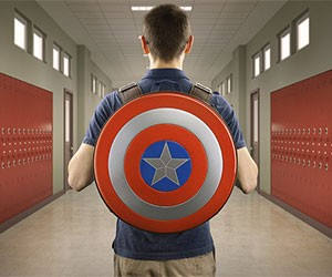 Captain America's Shield Backpack