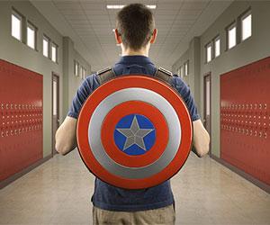 captain america school backpack