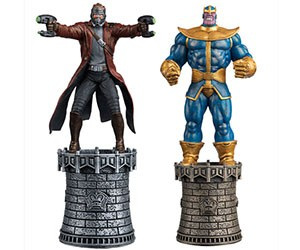 Superhero Chess Pieces