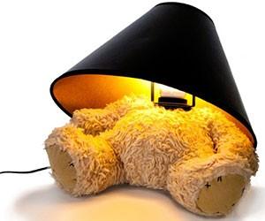 Headless Teddy Bear Lamp