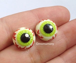 Cute Eyeballs Earrings