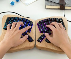 Two-Piece Keyboard