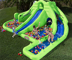 Inflatable Water Park croc