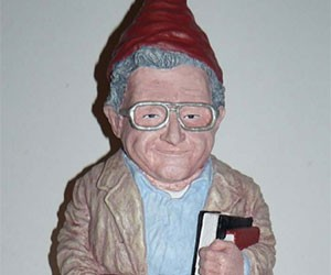Gnome Chomsky the Garden Noam