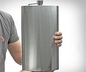 Giant Steel Flask