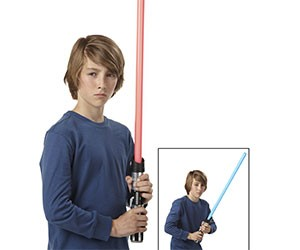 Star Wars Anakin to Darth Lightsaber