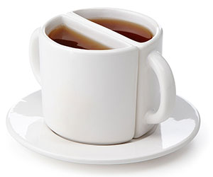 tea cup for two