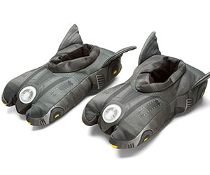 batmobile batman slippers