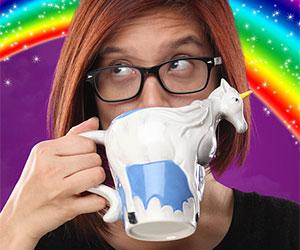 unicorn cup mug