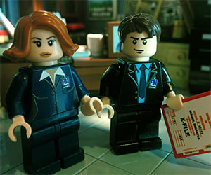 x-files lego mulder scully