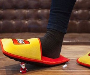 Anti LEGO LEGO Slippers