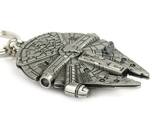 Millennium Falcon Replica Keychain