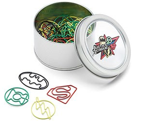 Justice League Paper Clips
