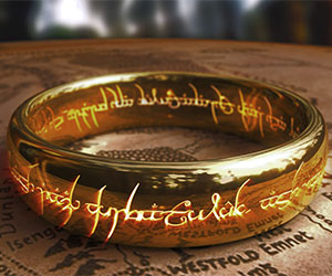 Lord of the Rings, Frodo's One Ring of Power Pendant