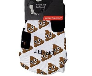 Poop Emoji Socks