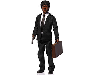 "Pulp Fiction Jules Winnfield 13"" Explicit Talking Figure"