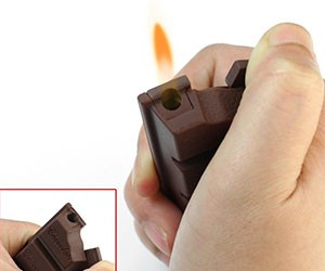 Chocolate Bar Shaped Lighter
