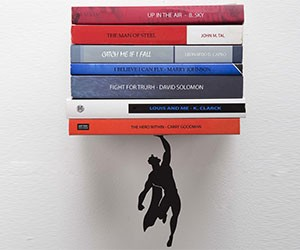Superhero Floating Shelf