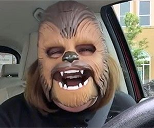 Star Wars TFA Chewbacca Electronic Mask