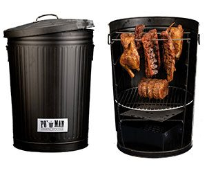 Trash Can Charcoal Grill