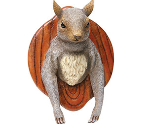 Wall Mounted Squirrel Head