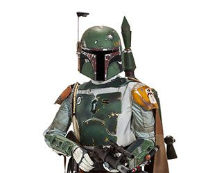 Life-size Boba Fett Action Figure