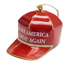 Trump Make America Great Again Ornament