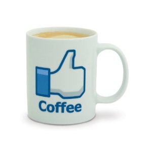 Facebook Like Coffee Mug