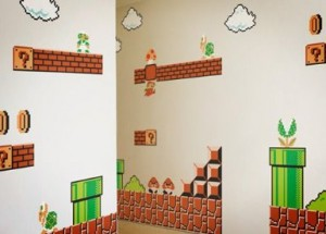 Super Mario Bros Wall Graphics