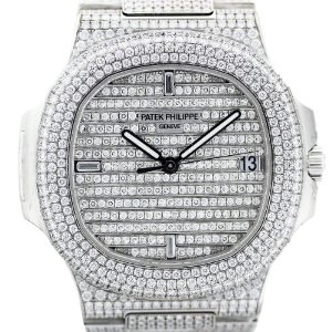 White Gold Diamond Watch