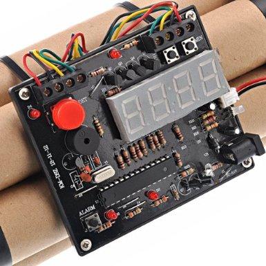 bomb alarm clock