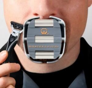 The Goatee Shaving Template