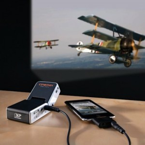 Portable iPhone Mini LED Projector