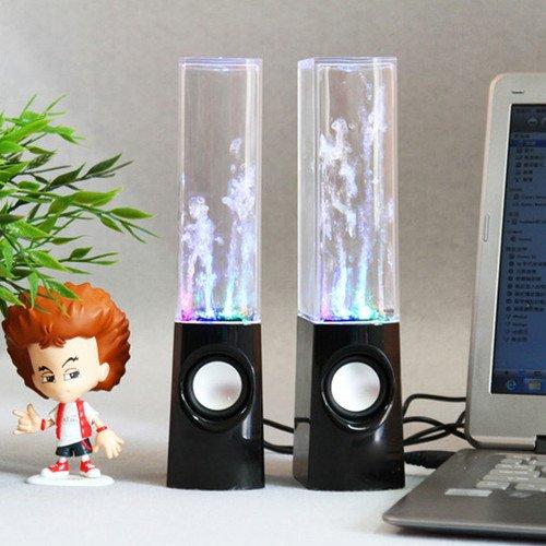 Illuminated Dancing Water Speakers