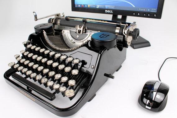 typewriter USB keyboard