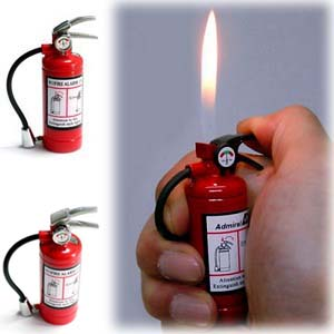 Fire Extinguisher Lighter