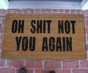 not-you-again-doormat