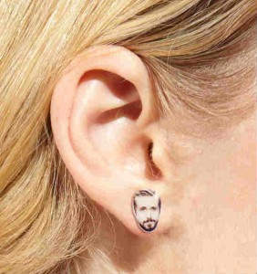 Hey Ryan Gosling Earrings