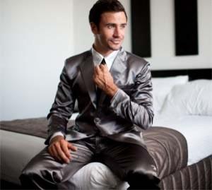 Classy suit pajamas