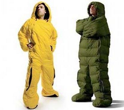 wearable sleeping bag
