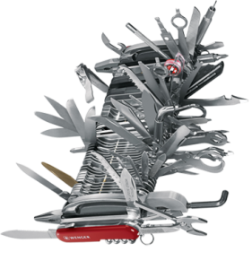 Ridiculous Swiss Army Knife Giant