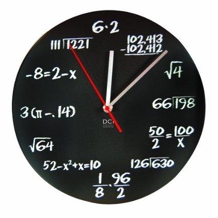 math problems clock