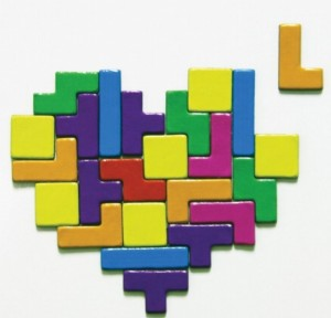 Tetris Magnets Set