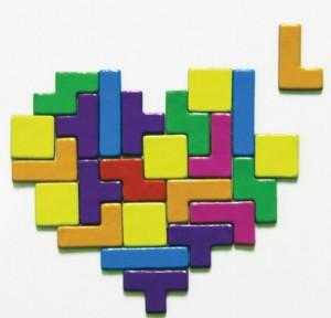 Tetris Magnets Set