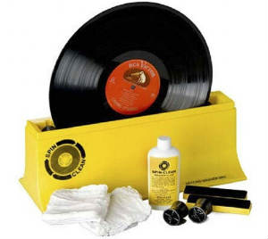 Vinyl Album Cleaning System