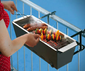 Balcony Barbeque Grill