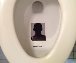 Photo Protector Toilet Sticker