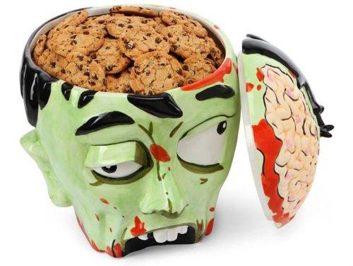zombie cookies jar head