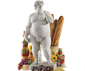 Super-Sized David Garden Statue