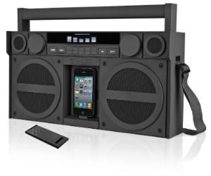 iPod/iPhone Speaker Dock Boombox